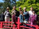 Сан-Хосе, в парке с компанией филиальцев