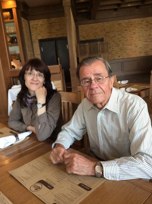 С Анной в Санкт-Петербурге