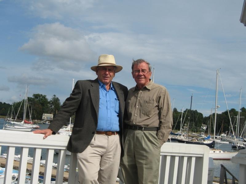 С М. Шварцманом в Массачусетсе