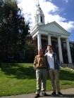 С Андреем в Бабсон колледже